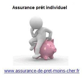 Assurance emprunt pour une personne