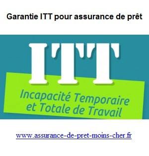 Qu'elles sont les garanties en cas d'ITT, d'IPT ou d'IPP ?