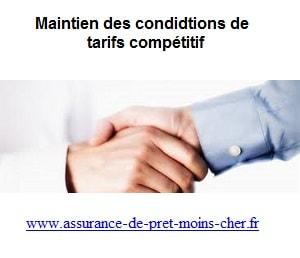 Comment l'assureur arrive a maintenir des conditions et des tarifs compétitifs ?