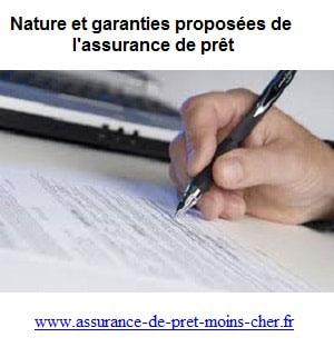 Qu'elle est l'objet du contra des garanties assurance de prêt ?